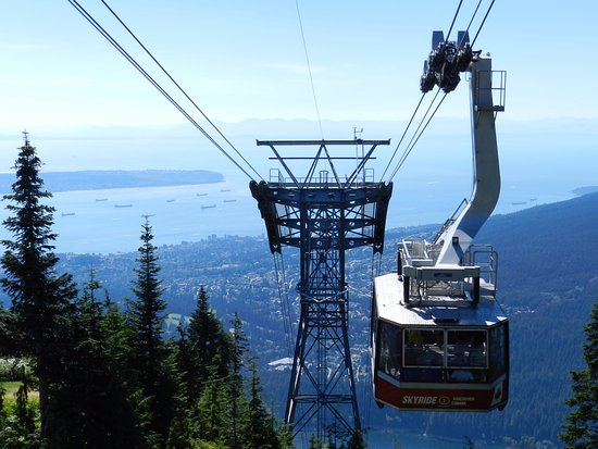 North Vancouver, Canadá: The skyride. You can pay extra to go on top.