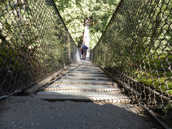 North Vancouver, Canadá: The suspension bridge