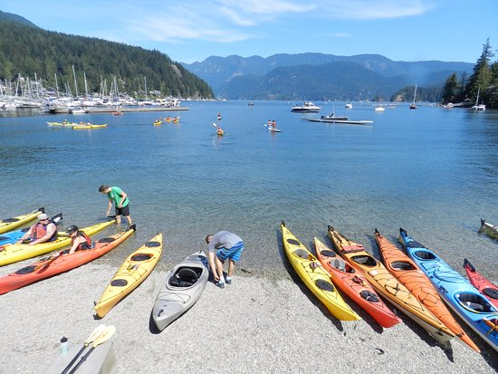 North Vancouver, Canadá: Deep cove kayak rental