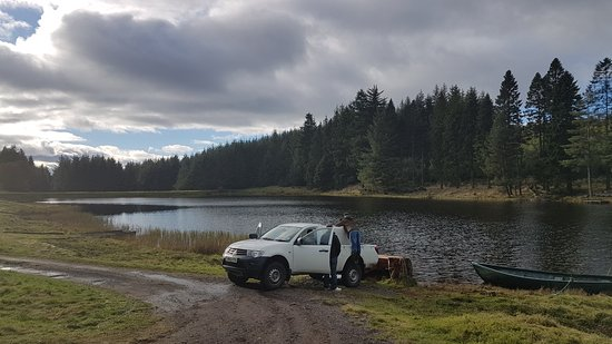 Blairgowrie, UK: Ledcrieff & Lairds Trout Fisheries
