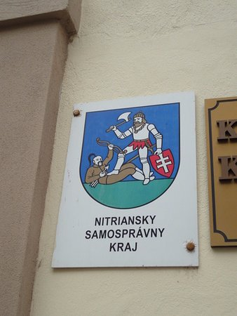 Nitra, سلوفاكيا: 这里曾经有入侵者。当地居民奋起抗争。