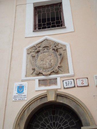 Nitra, سلوفاكيا: 城堡的城徽。