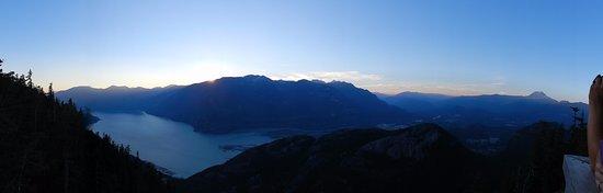 Squamish, แคนาดา: Panoramic view at Sea to Sky