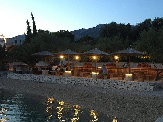 Viganj, Kroatien: The restaurant