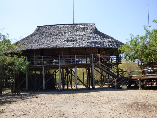 Selous Game Reserve, تنزانيا: Reataurant