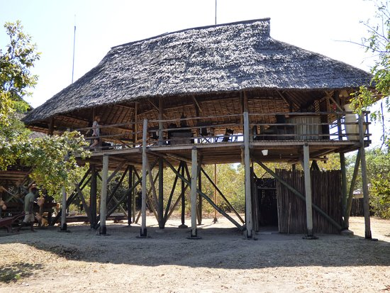 Selous Game Reserve, تنزانيا: Bar Area