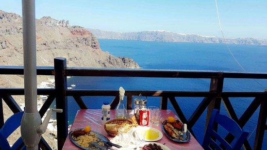 Thirassia, Yunani: The view