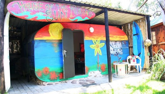 Mount Moreland, Sudáfrica: Our Hippy Caravan