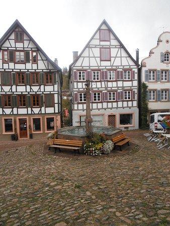 Schiltach, Allemagne : Market Square