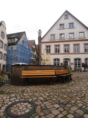 Schiltach, Allemagne : The Market Square Well