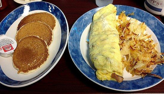 Seffner, FL: Our Omelet Breakfast!