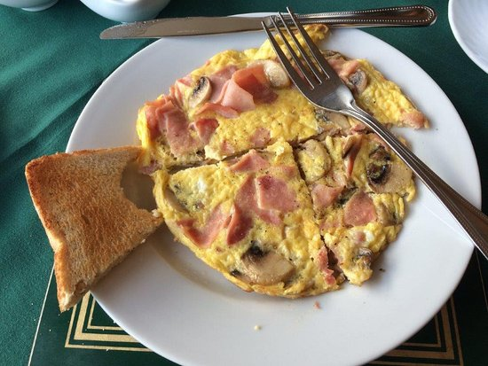 Ashfield Bed & Breakfast: The best omelettes !
