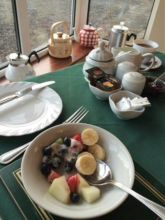 Ashfield Bed & Breakfast: Wonderful Fresh Fruit