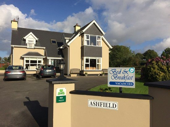 Ashfield Bed & Breakfast: Entrance to the B&B