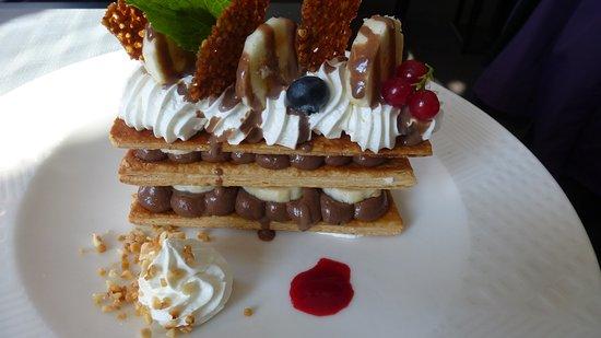 Evreux, Francia: MILLEFEUILLE CHOCO BANANE