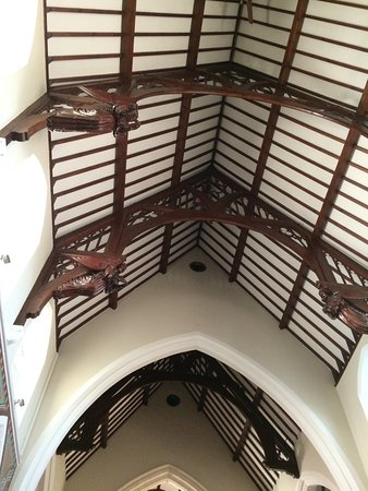 Kenmare, Irlanda: Interesting Ceiling
