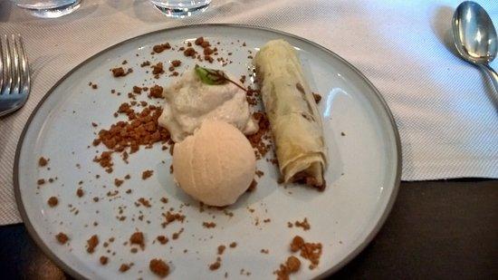 Taillades, Frankrike: Dessert