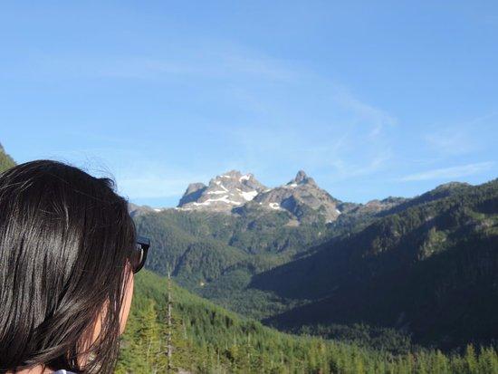 Squamish, Canada: So high up