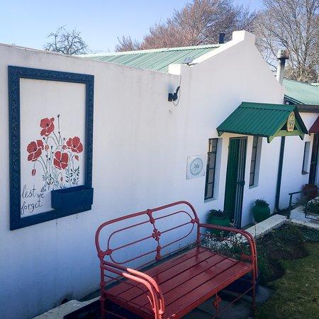 Dullstroom, Sør-Afrika: Entrance to room