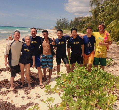 Atlantic Shores, Barbados: Surfing Lessons &surfboards rental @ RideTheTide Surf School Barbados
