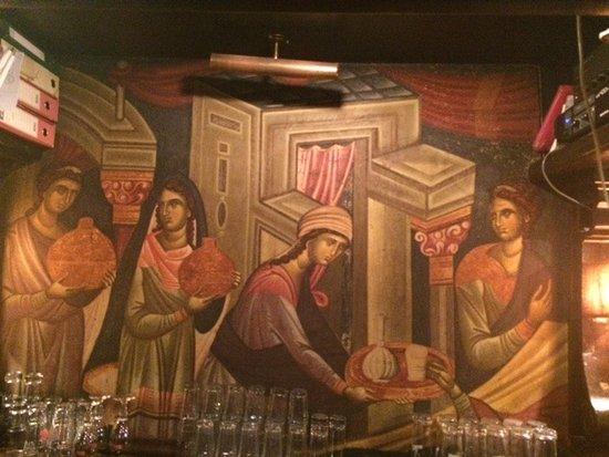 Serbia Central, Serbia: Freska Restaurant Belgrade- Main Motive