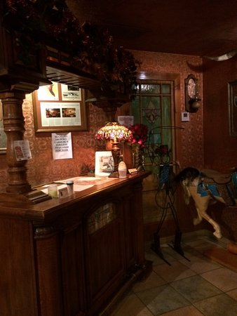 Casey's Cowtown Club : The Reception Desk