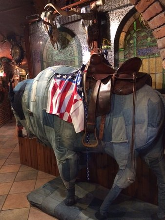 Casey's Cowtown Club : The Actual Owner, Not Sure if One Can Ride