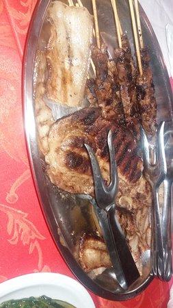 Pavona, İtalya: Carne