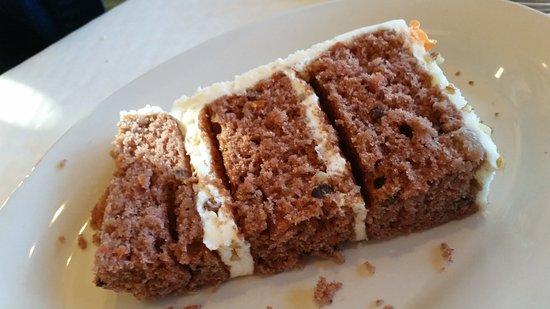 Chapel Hill, North Carolina: Carrot Cake!