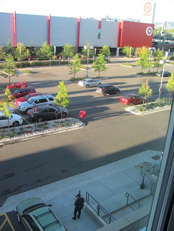Lakewood, CO: View of Target Parking Lot From Room