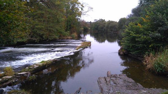 Newcastle Emlyn, UK: river view