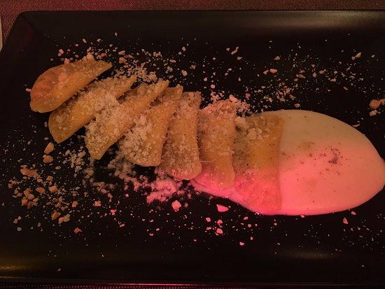 Cerreto di Spoleto, Italia: Pasta sottile e ottimo ripieno