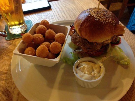 Jachymov, Tschechien: Poork burger