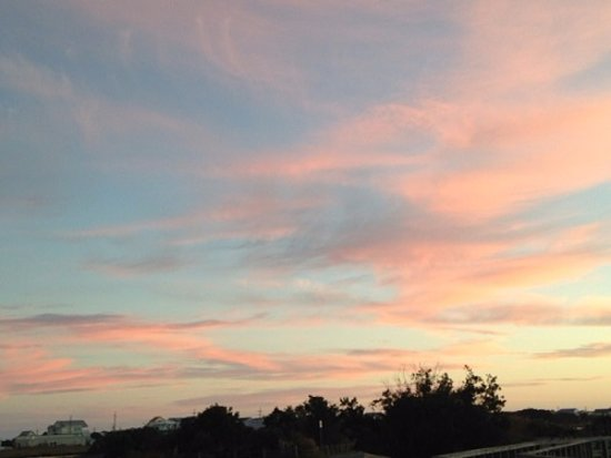 Surf City, Carolina del Norte: Sunset at Soundside Park