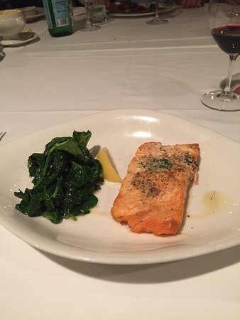 Pleasanton, CA: King Salmon and Spinach