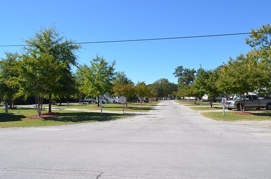 Lexington, Carolina del Sur: a view from next to the office of the campground
