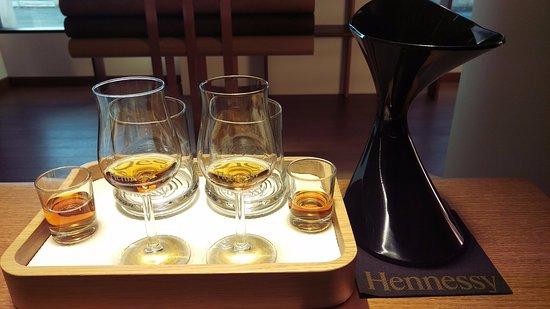 Cognac, Fransa: The tasting!