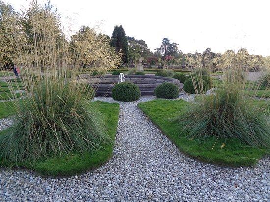 Trentham, UK: The gardens