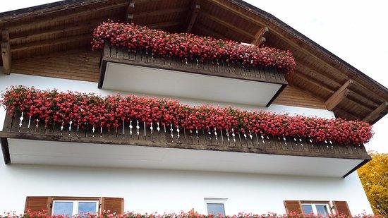 Renon, Italia: i balconi