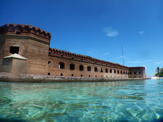 Dry Tortugas National Park, FL: Southern side & beach