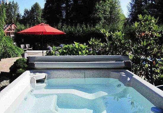 Courtenay, Kanada: Hot Tub
