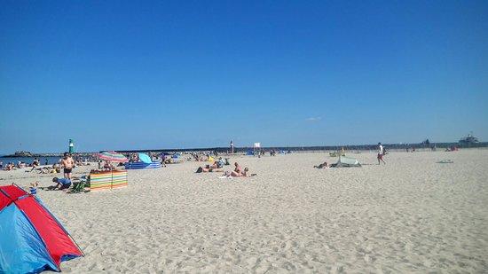 Warnemunde beach bild von ostseebad warnem nde for Warnemunde strand hotel