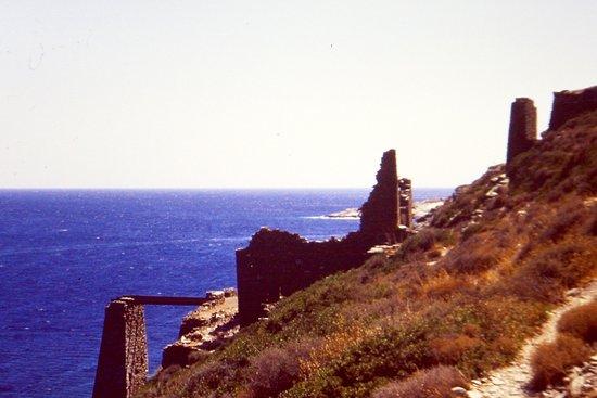 Faros, Greece: Le rovine del piano di carico