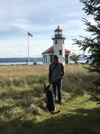 Vashon, WA: Just enough sand to get a dog dirty! Lovely spot for a simple walk :)