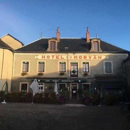 Hotel Du Morvan Saint Leger Sous Beuvray
