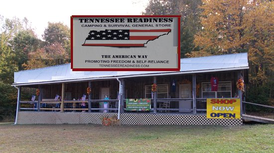 Cosby, TN: Come visit now open Tennessee Readiness. We offer Camping, Hiking, Survival Gear