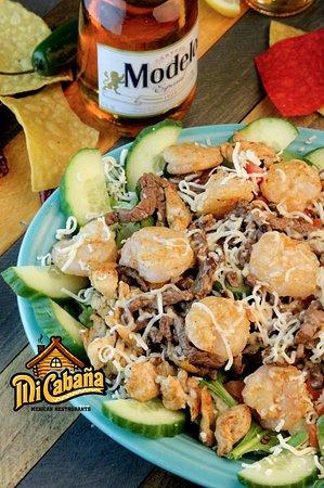 Greenville, NC: Salad -Mi Cabana Mexican Restaurant