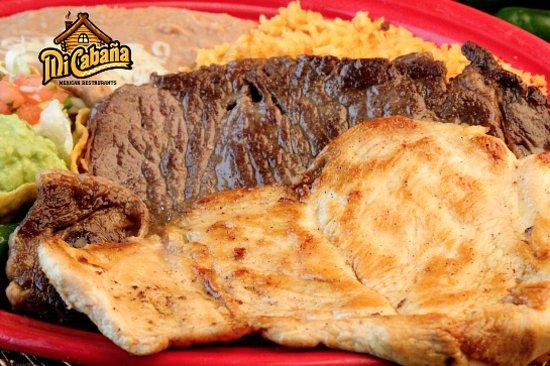Greenville, NC: MI Cabana Especial -Mi Cabana Mexican Restaurant