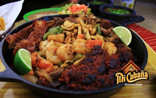 Greenville, NC: Parrillada -Mi Cabana Mexican Restaurant