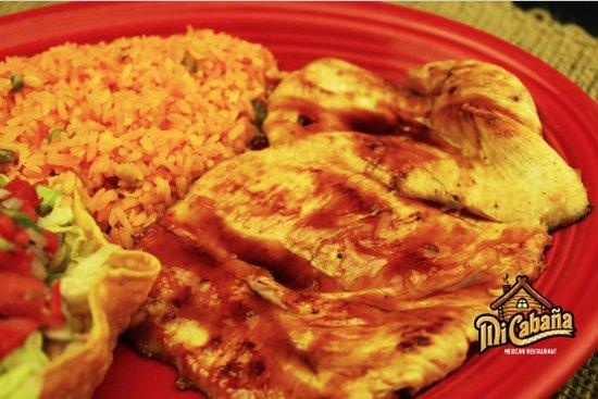 Winterville, Carolina del Norte: Pollo -Mi Cabana Mexican Restaurant